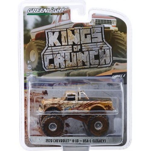 Greenlight Kings of Crunch Series 4 - 1970 Chevy K-10 Monster Truck