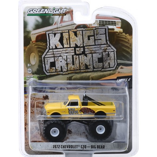 Greenlight Kings of Crunch Series 4 - 1972 Chevy C-20 Chevenne Monster Truck