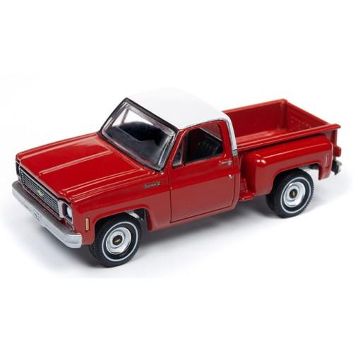 Auto World Premium 2019 Release 2A - 1973 Chevy Cheyenne Stepside Truck