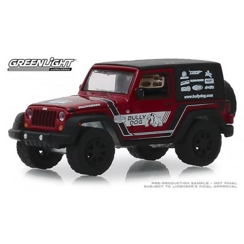 Greenlight Hobby Exclusive - 2012 Jeep Wrangler Bully Dog
