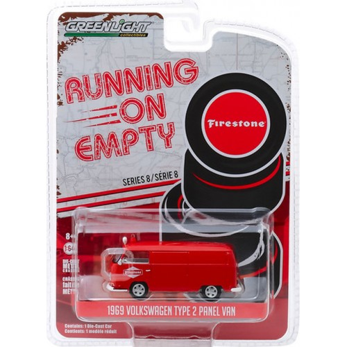Greenlight Running on Empty Series 8 - 1969 Volkswagen Type 2 Panel Van