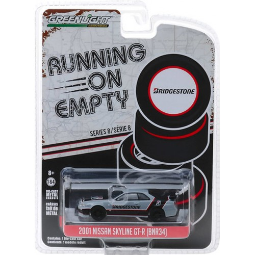 Greenlight Running on Empty Series 8 - 2001 Nissan Skyline GT-R BNR 34