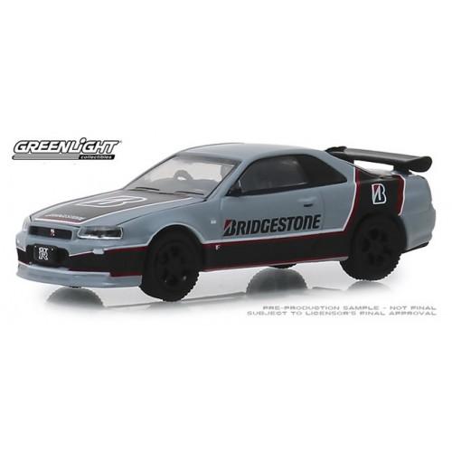 Greenlight Running on Empty Series 8 - 2001 Nissan Skyline GT-R BNR 34