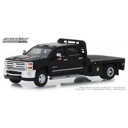 Greenlight Dually Drivers Release 1 - 2018 Chevy Silverado 3500 Flatbed