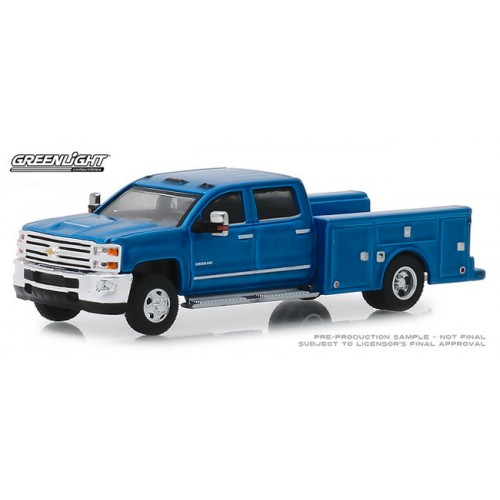 Greenlight Dually Drivers Release 1 - 2018 Chevy Silverado 3500 Service Bed
