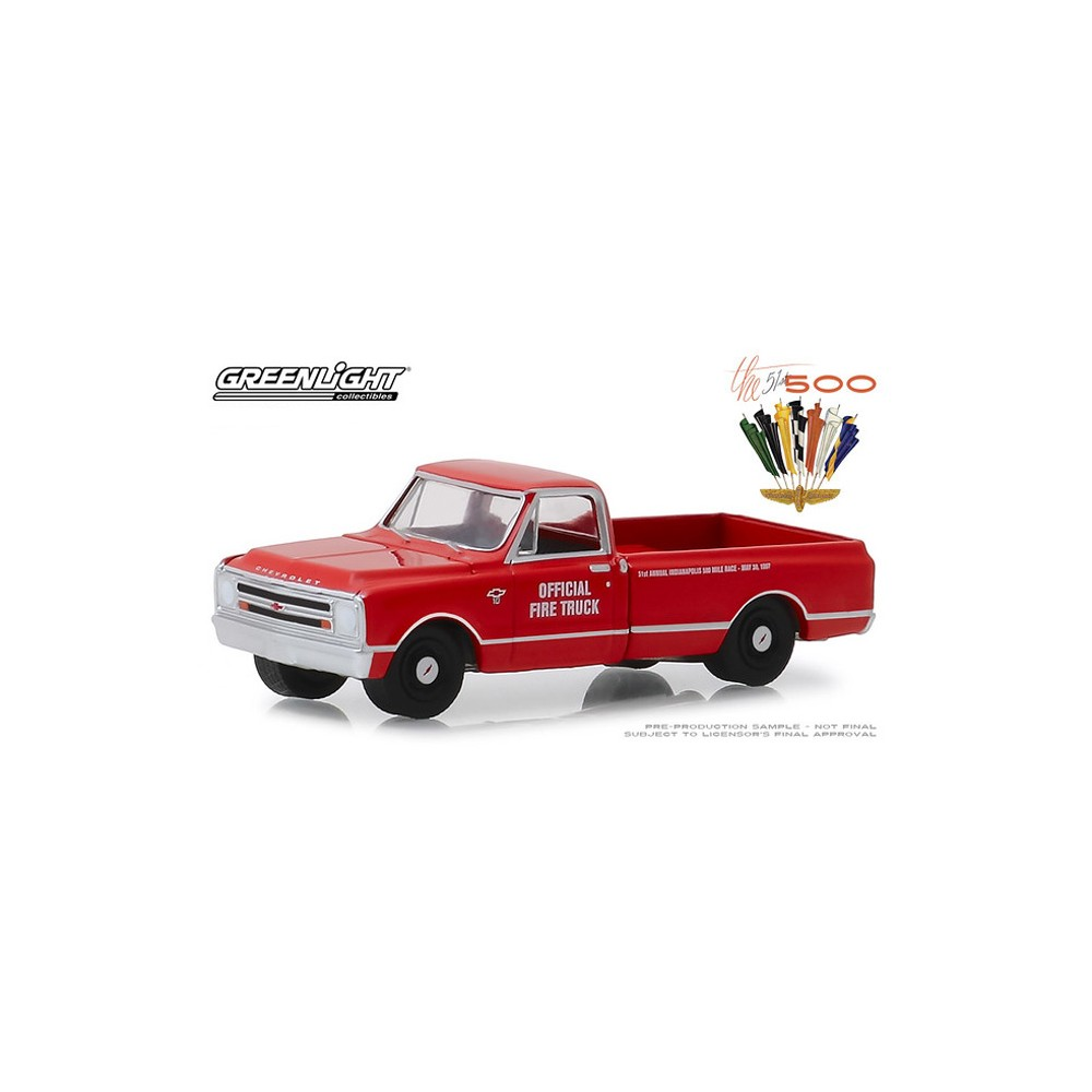 Greenlight Hobby Exclusive - 1967 Chevy C-10 Fire Truck