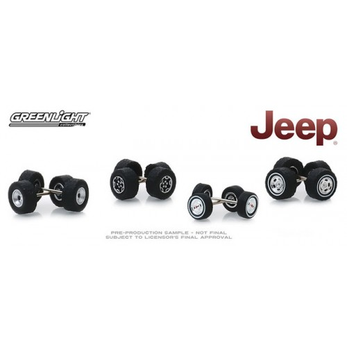 Greenlight Auto Body Wheel and Tire Packs Series 1 - Jeep