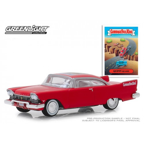 Greenlight Garbage Pail Kids Series 1 - 1957 Plymouth Belvedere