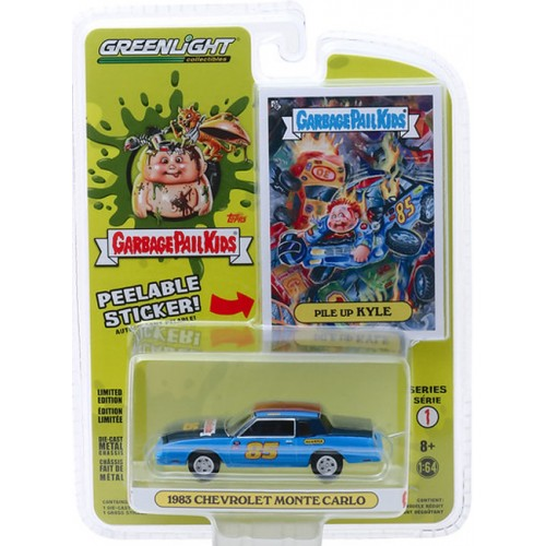 Greenlight Garbage Pail Kids Series 1 - 1983 Chevy Monte Carlo
