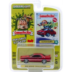 Greenlight Garbage Pail Kids Series 1 - 2012 Dodge Challenger