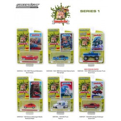 Greenlight Garbage Pail Kids Series 1 - Six Car Set