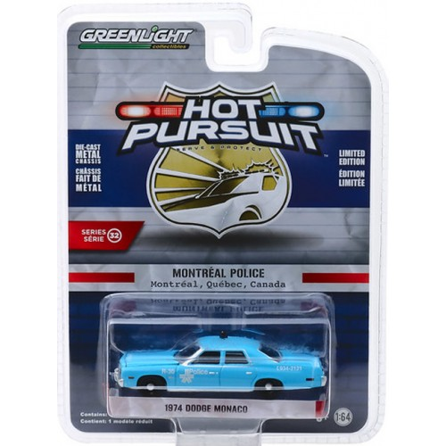 Greenlight Hot Pursuit Series 32 - 1974 Dodge Monaco