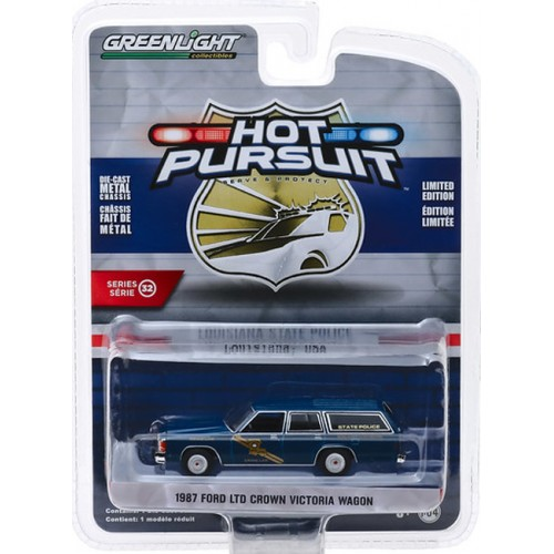 Greenlight Collectibles Hot Pursuit Police Cars Series