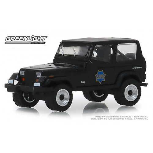 Greenlight Hot Pursuit Series 32 - 1994 Jeep Wrangler YJ