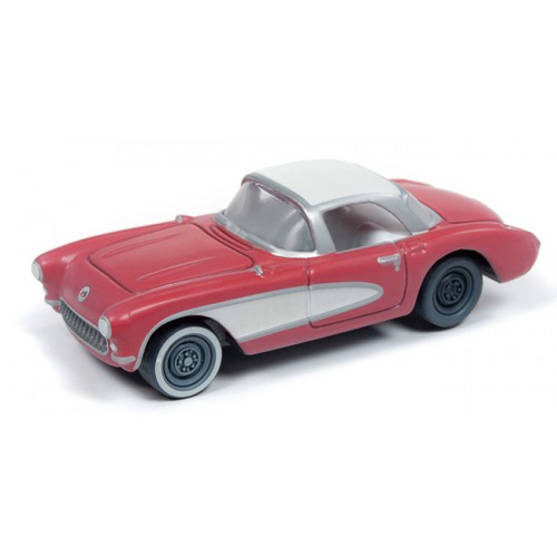 Johnny Lightning Muscle Cars - 1957 Chevy Corvette Barn Finds