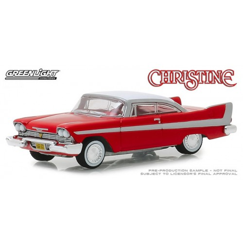Greenlight Hollywood Series 23 - 1958 Plymouth Fury Christine
