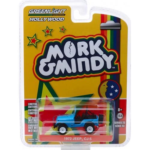 Greenlight Hollywood Series 23 - 1972 Jeep CJ-5 Mork and Mindy