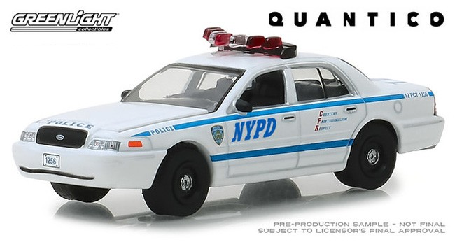 Greenlight Hollywood Quantico 2003 Ford Crown Victoria Police Interceptor NG24