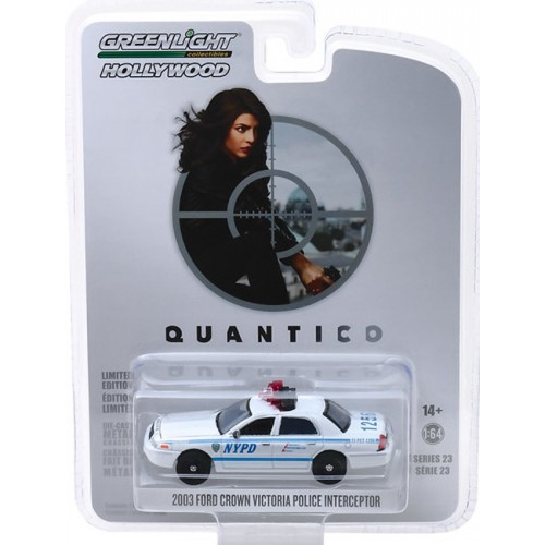 Greenlight Hollywood Series 23 - 2003 Ford Crown Victoria Police Interceptor