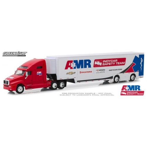Greenlight Hobby Exclusive - Kenworth T2000 AMR Safety Team Transporter