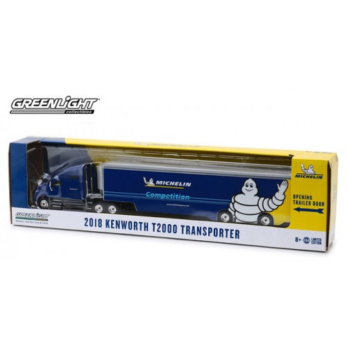 Greenlight Hobby Exclusive - Kenworth T2000 Michelin Transporter