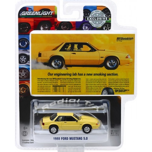 Greenlight Hobby Exclusive -  1988 Ford Mustang 5.0