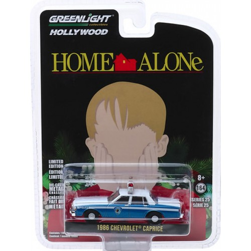 Greenlight Hollywood Series 25 - 1986 Chevy Caprice Police Car