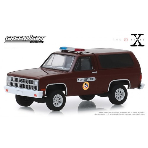 Greenlight Hollywood Series 25 - 1981 Chevy K-5 Blazer