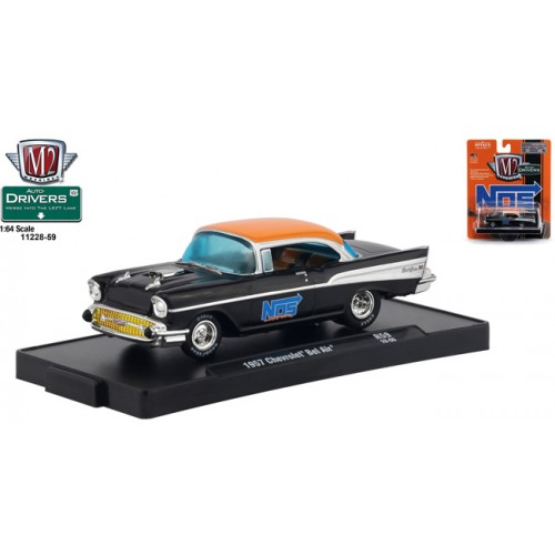 M2 Machines Drivers Release 59 - 1957 Chevy Bel Air