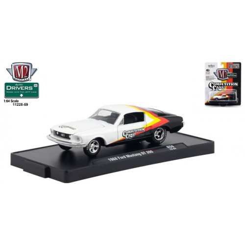 M2 Machines Drivers Release 59 - 1968 Ford Mustang GT 390