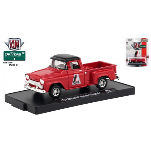M2 Machines Drivers Release 54 - 1958 Chevy Apache Stepside