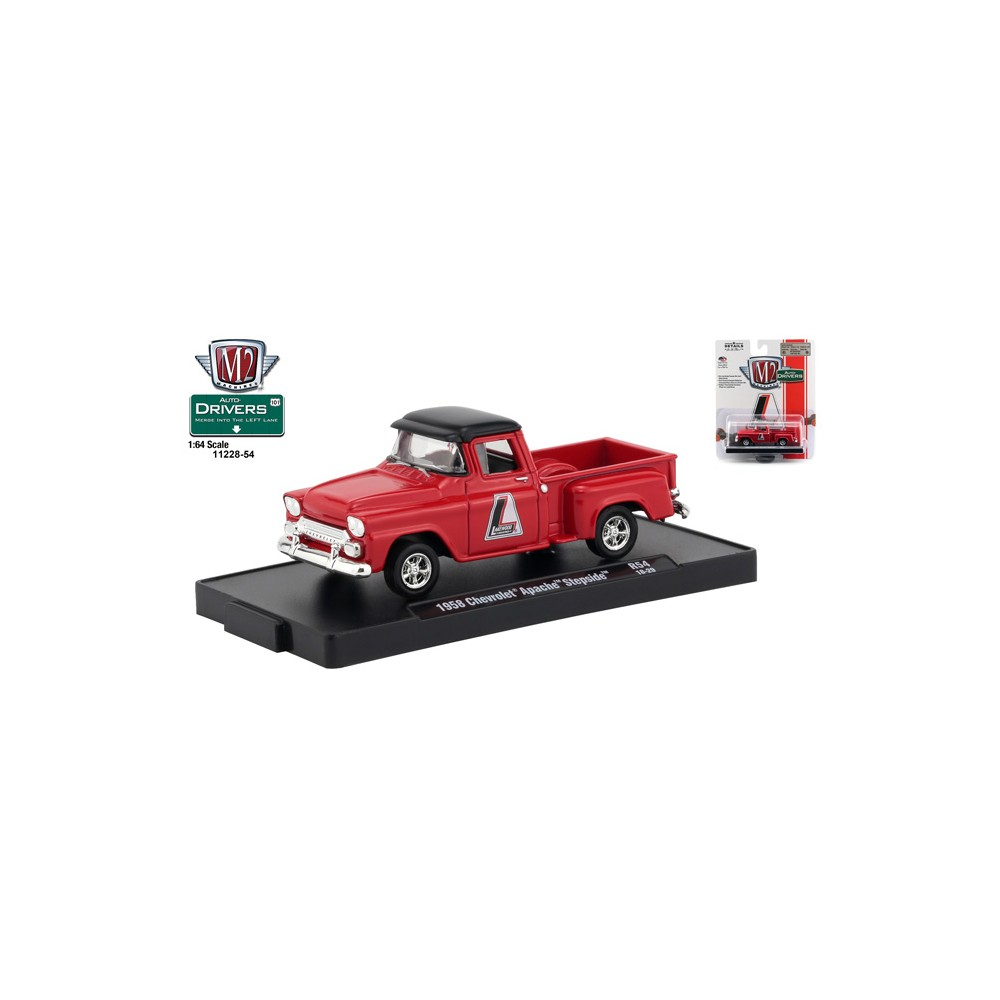 M2 Machines 1958 Chevy Apache Truck 1//64 Special Promo Car