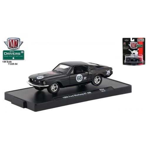 M2 Machines Drivers Release 54 - 1968 Ford Mustang GT 390