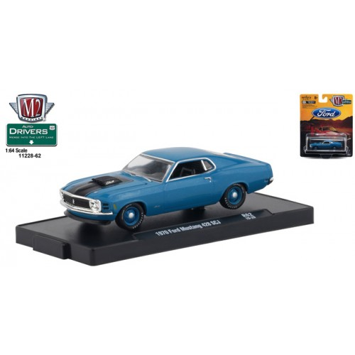 M2 Machines Drivers Release 62 - 1970 Ford Mustang 428 SCJ