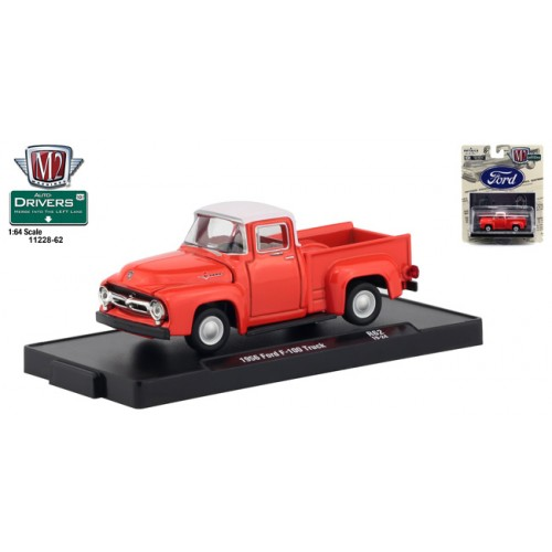 M2 Machines Drivers Release 62 - 1956 Ford F-100 Truck