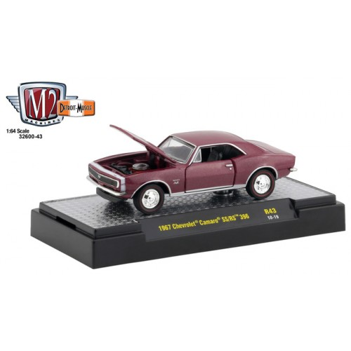 M2 Machines Detroit Muscle Release 43 - 1967 Chevy Camaro SS/RS 396