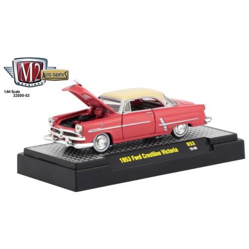 M2 Machines Auto-Thentics Release 53 - 1953 Ford Crestliner