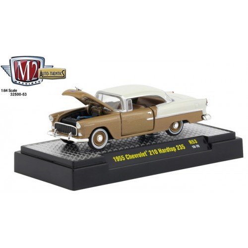 M2 Machines Auto-Thentics Release 53 - 1955 Chevy 210 Hard Top 235