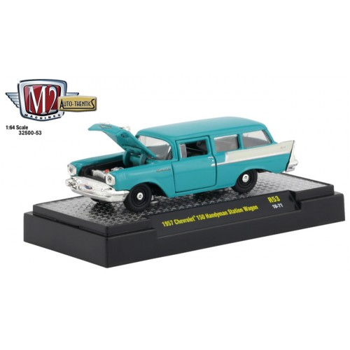 M2 Machines Auto-Thentics Release 53 - 1957 Chevy 150 Handyman Station Wagon