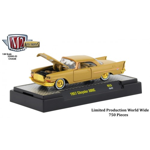 M2 Machines Auto-Thentics Release 53 - 1957 Chrysler 300C Chase Car