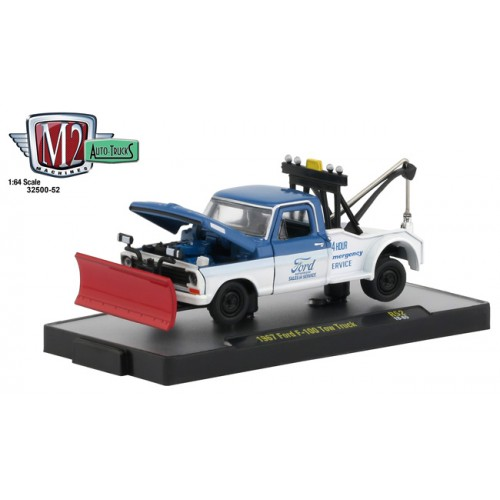 M2 Machines Auto-Trucks Release 52 - 1967 Ford F-100 Tow Truck