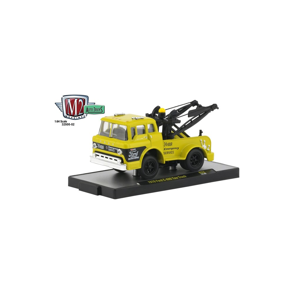 M2 Machines Auto-Trucks Release 52 - 1970 Ford C-600 Tow Truck