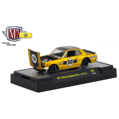 M2 Machines Mooneyes Liquid Gold - 1971 Nissan Skyline GT-R