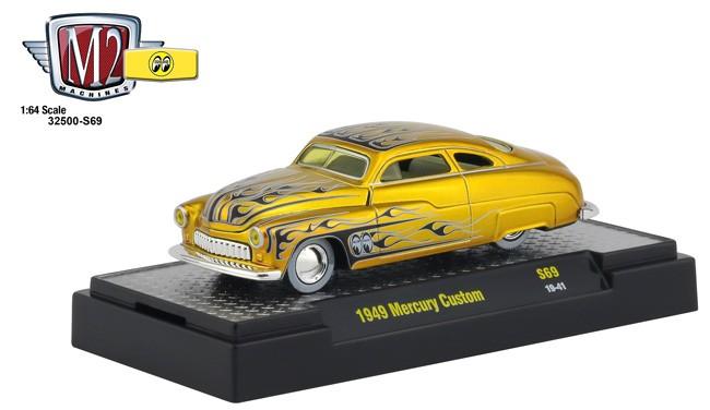 M2 MACHINES 32500 AUTO-SHOWS GREEN 1949 MERCURY CUSTOM