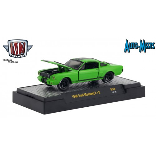 M2 Machines Auto-Meets Release 50 - 1966 Ford Mustang 2+2