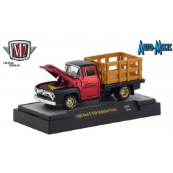 M2 Machines Auto-Meets Release 50 - 1956 Ford F-100 Stakebed Truck
