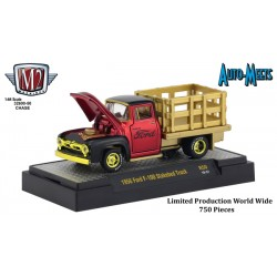 M2 Machines Auto-Meets Release 50 - 1956 Ford F-100 Stakebed Truck Chase Version