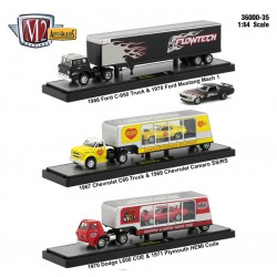 M2 Machines Auto-Haulers Release 35 - Three Truck Set