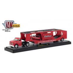M2 Machines Auto-Haulers Release 36 - 1967 Chevy C60 Truck and 1971 Chevy Camaro SS 396