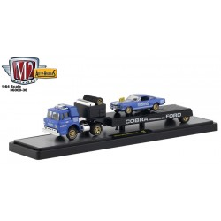 M2 Machines Auto-Haulers Release 36 - 1966 Ford C-600 Truck with 1966 Shelby GT350